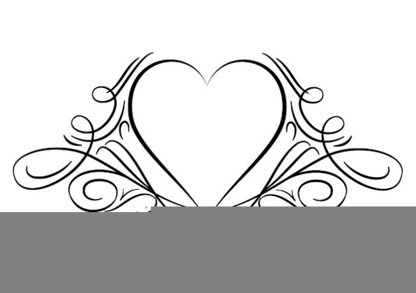 Two Hearts Designs Clipart.