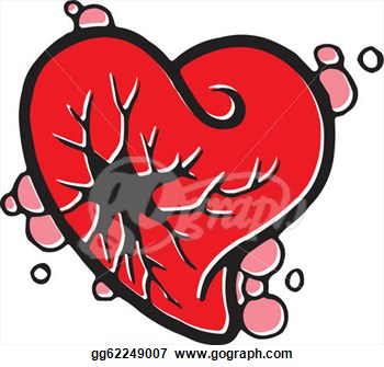Heart disease clipart.