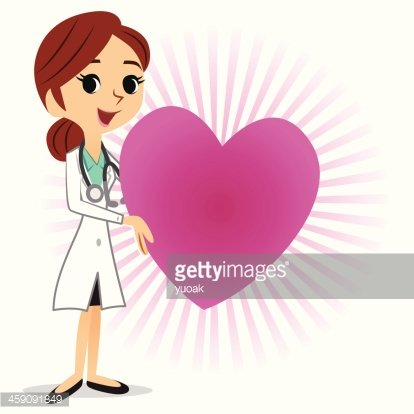 Heart Doctor Clipart Image.