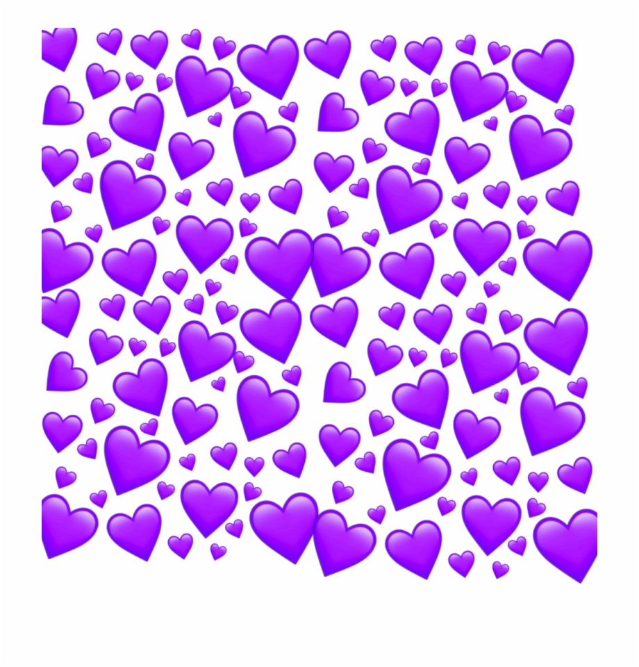 Heart Cute Effect Purple Hearts Pinkheart Purplehearts Png.