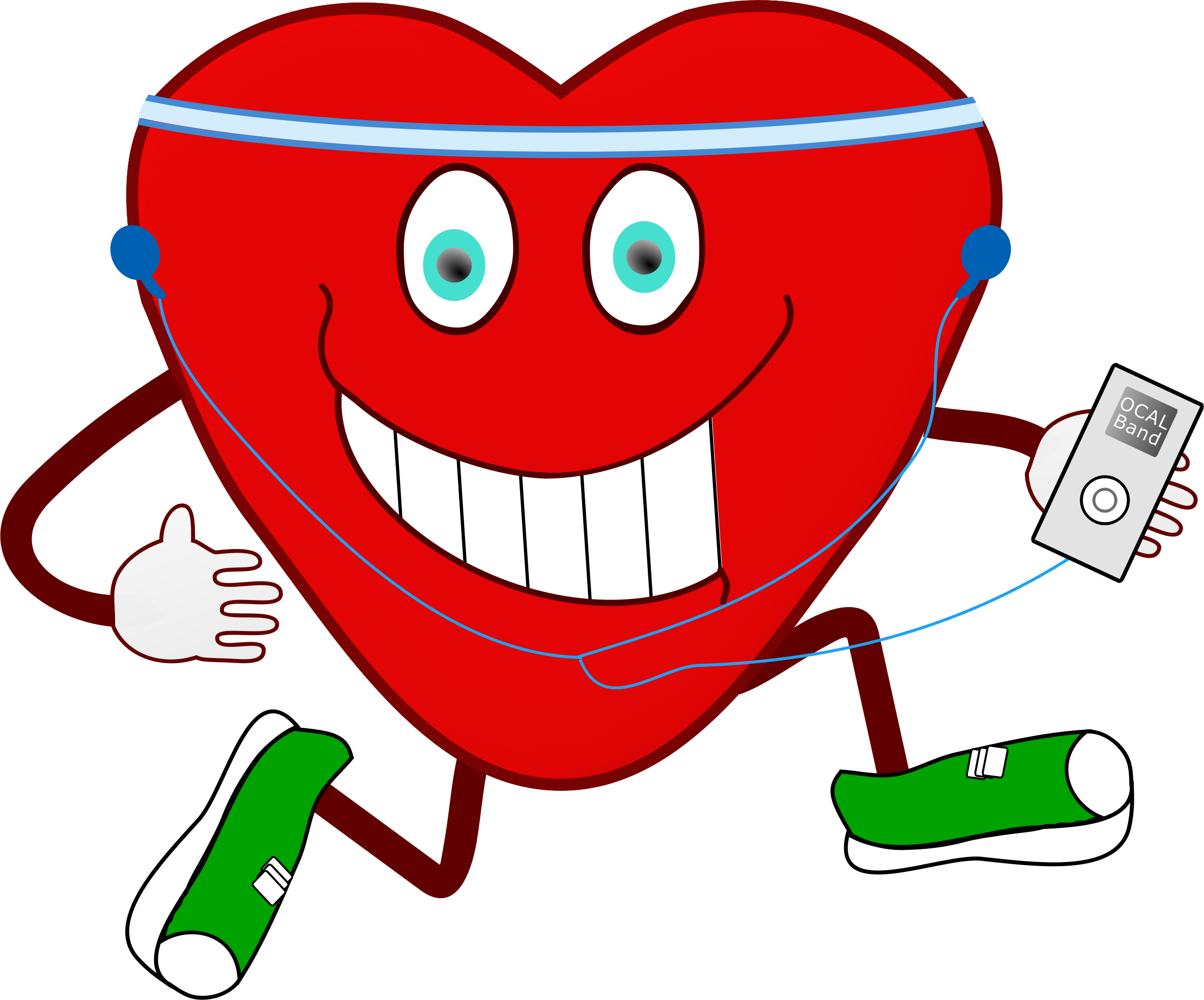 Exercise clipart heart, Exercise heart Transparent FREE for.