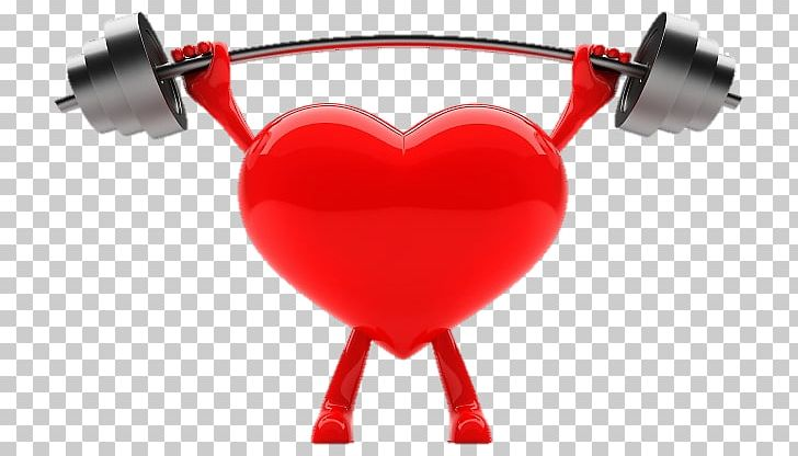 Heart Weight Training Cardiovascular Disease Exercise PNG.