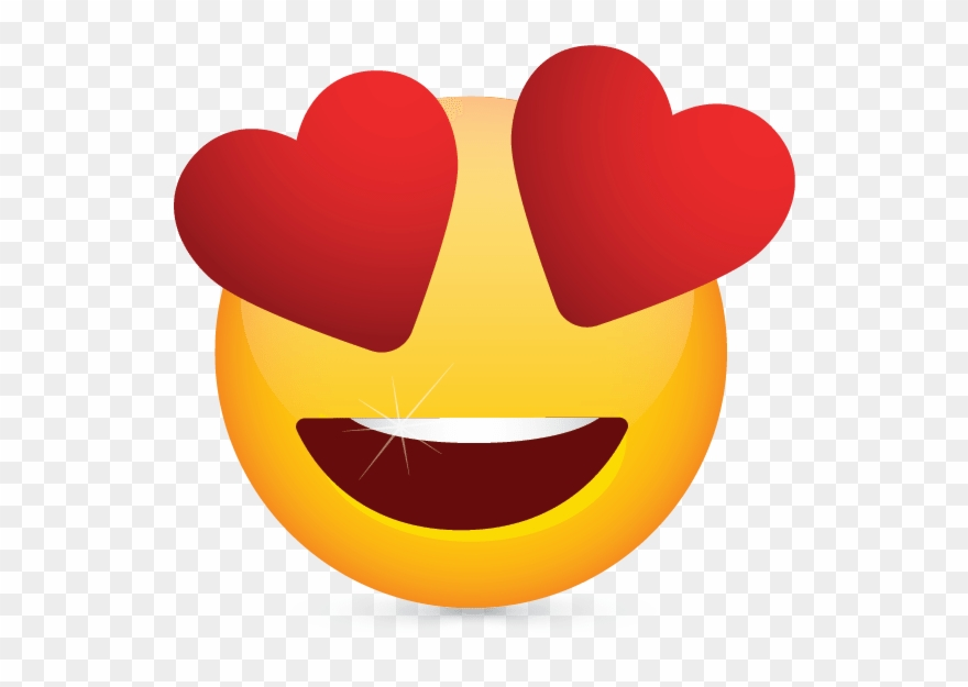 Heart Eyes Emoji Clipart.