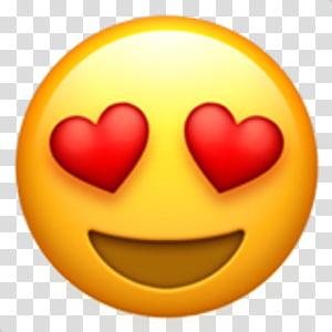 Emoji Emoticon Smiley , Love Hearts Eyes Emoji , emoji with.