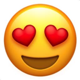 Heart Eye Emoji Clipart.