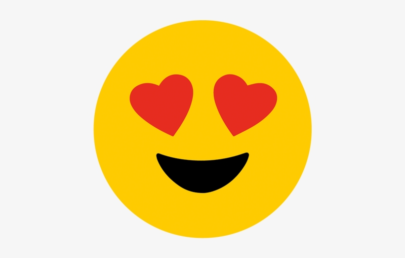 Emoji Heart Eyes Png Vector Royalty Free Library.