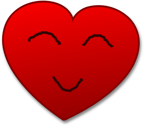 Smiley clipart heart, Smiley heart Transparent FREE for.
