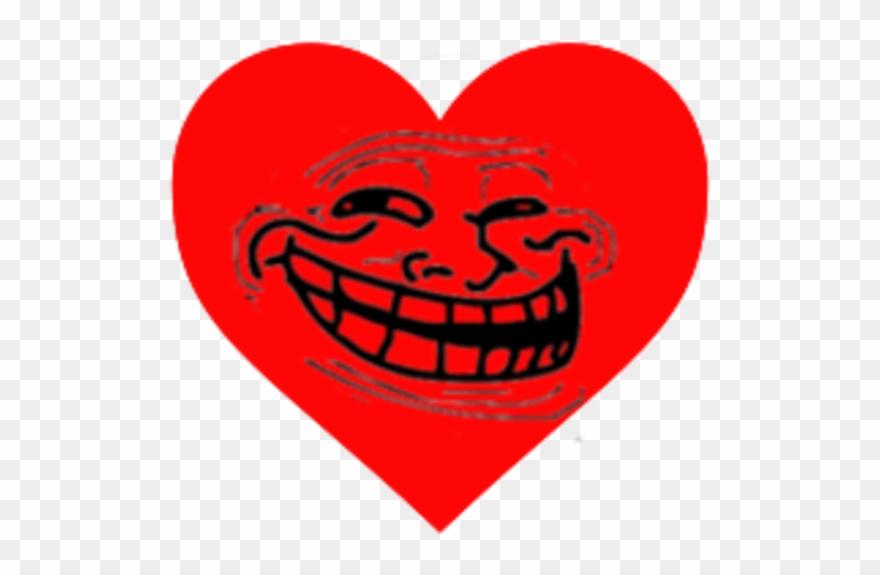 Trollololed Love Heart.