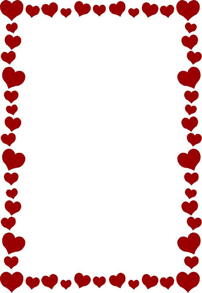 Heart border.