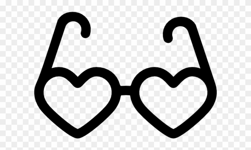 Sunglasses Clipart Heart.