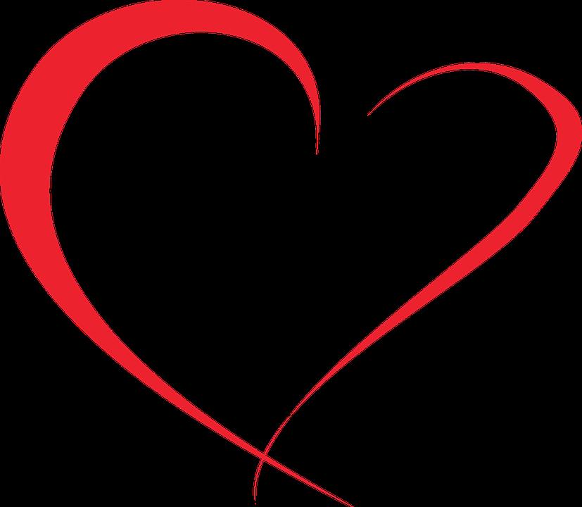 Red Heart Symbol.