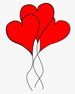 Free Double Heart Clip Art with No Background.