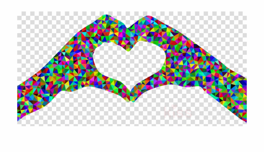 Download Hands In Heart Shape Png Clipart Hand Heart.