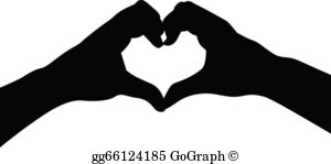 Heart Hands Clip Art.