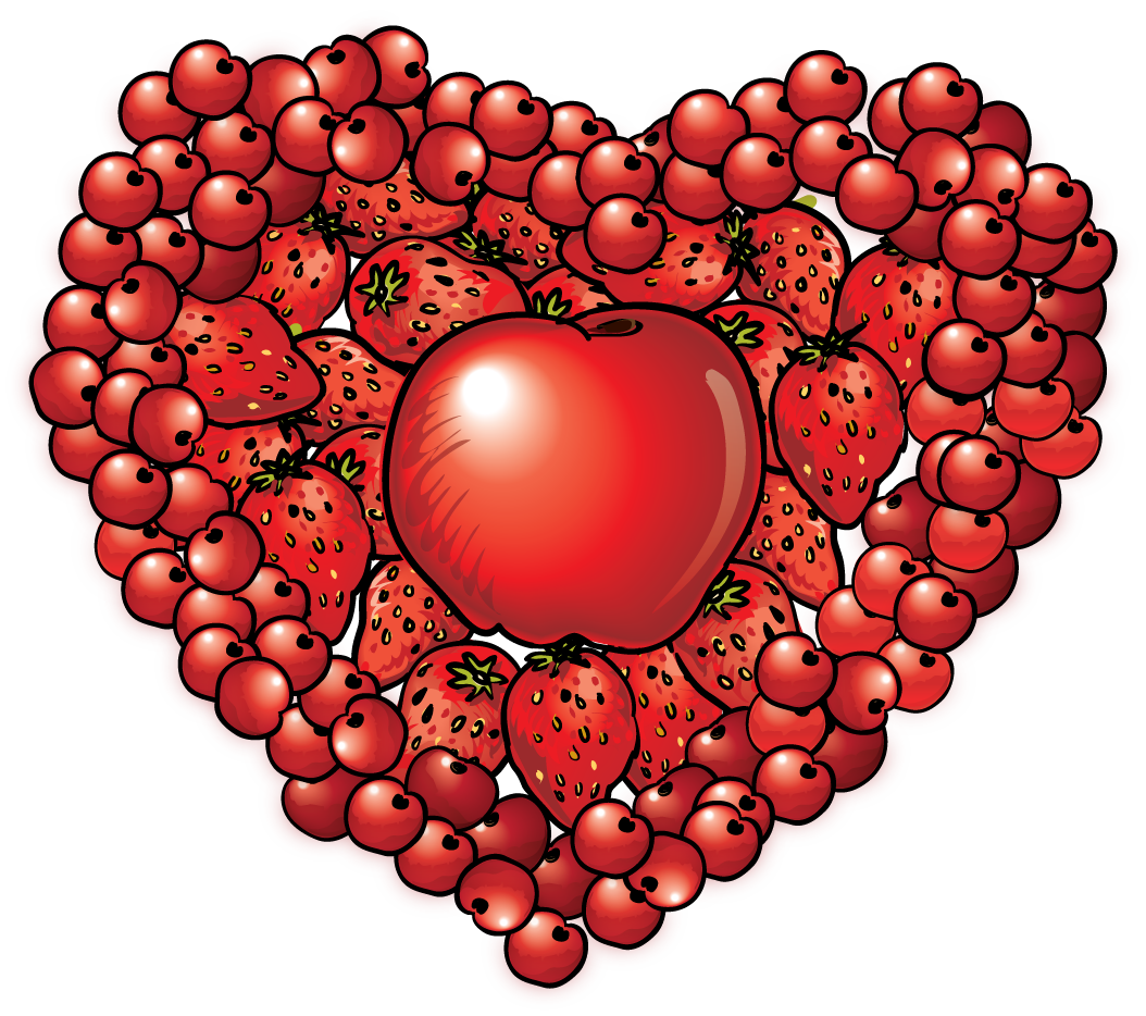 Heart Health Month Clip Art N6 free image.