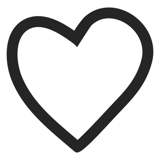 Heart graphic icon.