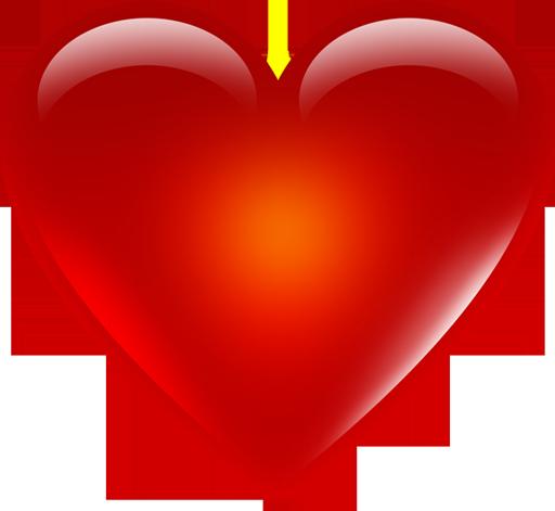 Red Heart Emoji Png Hd.