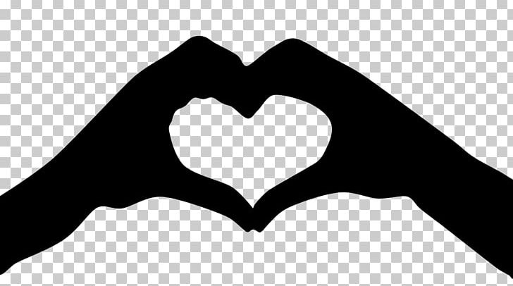 Hand Heart Heart In Hand PNG, Clipart, Black And White, Clip Art.