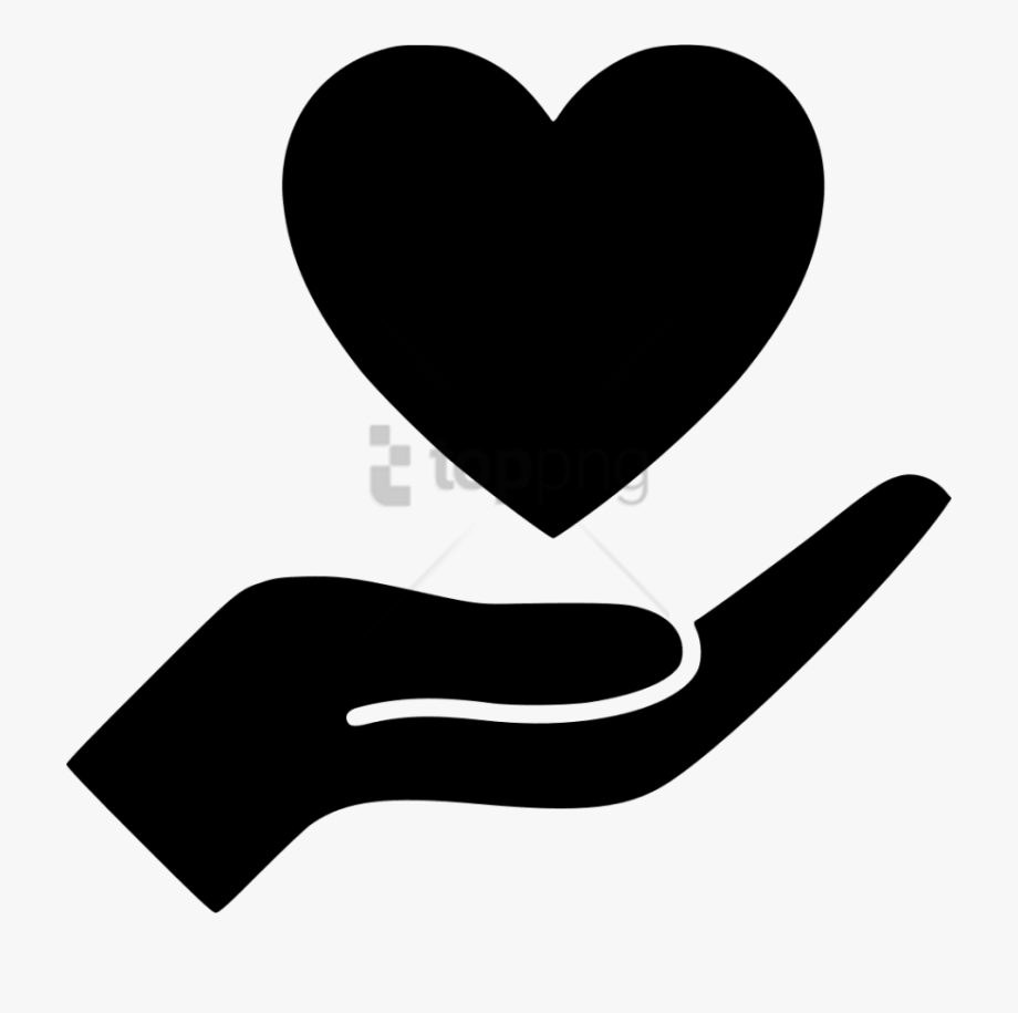 Heart In Hand Png.