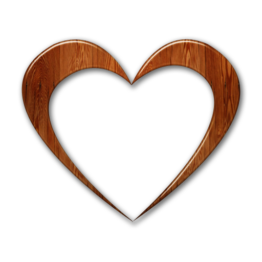 Heart In The Wood Clipart Clipground