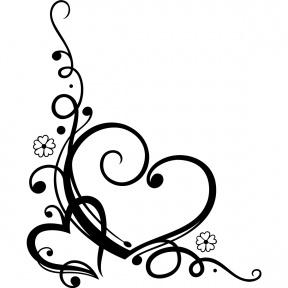 Heart Line Clipart.