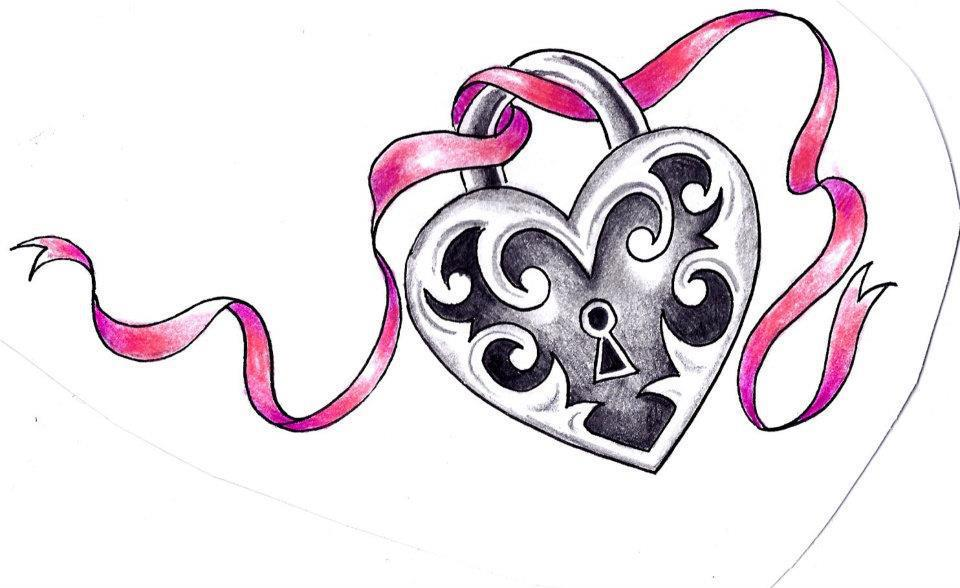 Heart Locket Clipart.