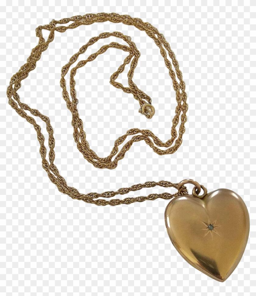 Heart Pendant Png Clipart.