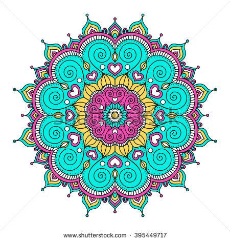 Mandala Vector Stock Images, Royalty.