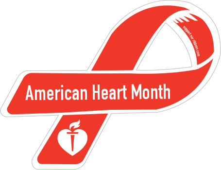 American Heart Month Clipart.