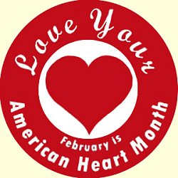 February Heart Month Clipart.