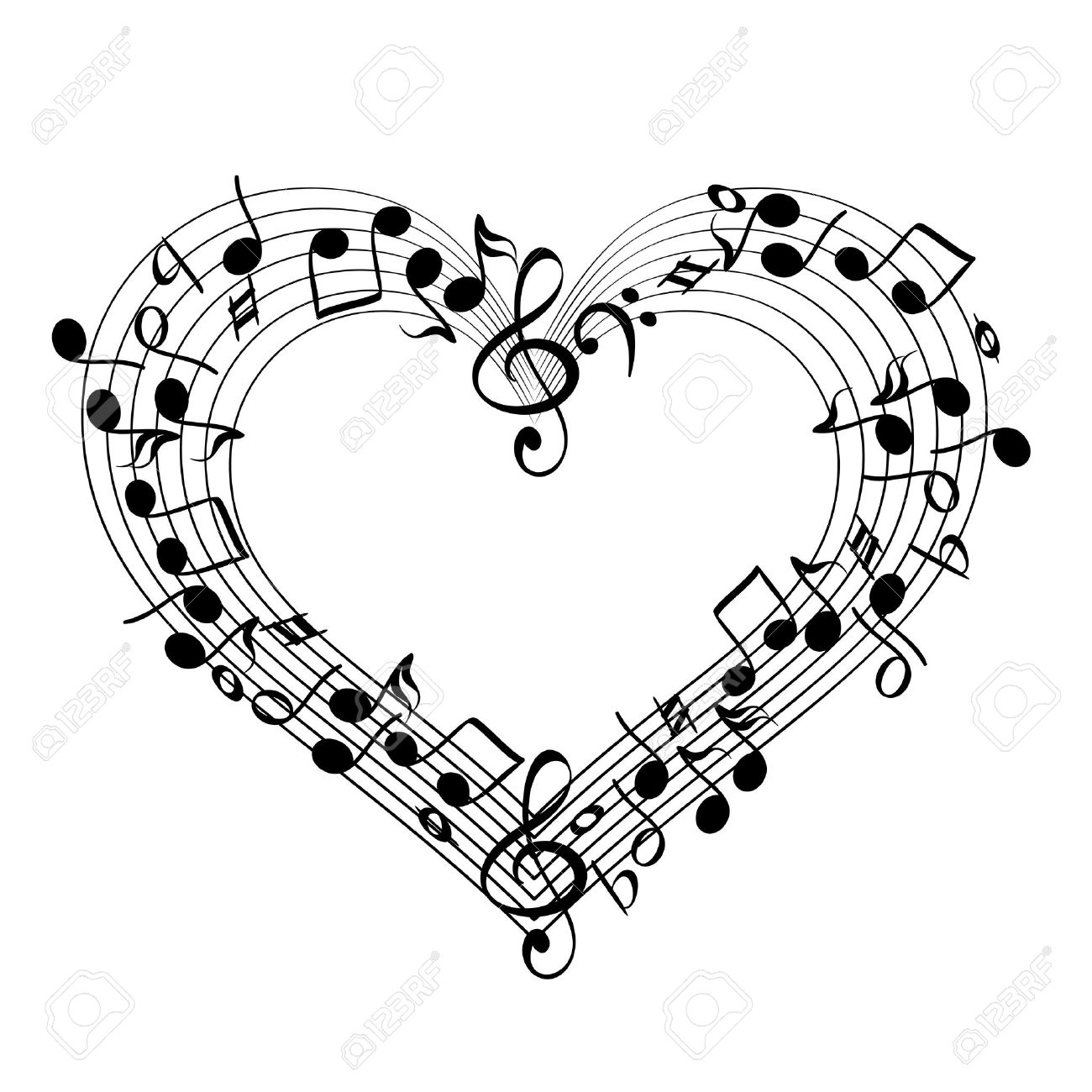 11,836 Music Heart Cliparts, Stock Vector And Royalty Free Music.
