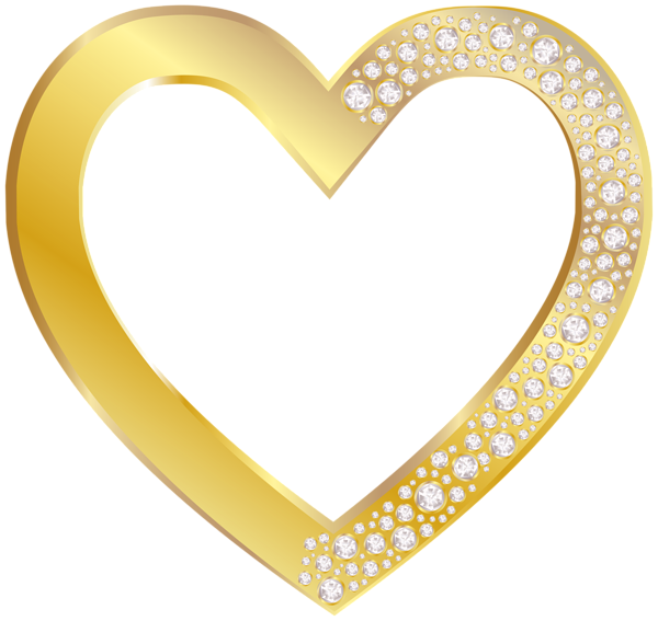Heart Of Gold Clipart Clipground