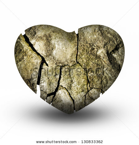 Heart Of Stone Stock Images, Royalty.
