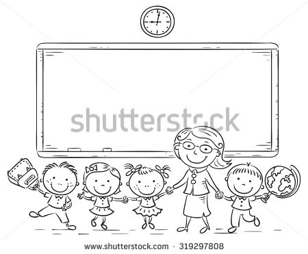 Teacher Blackboard Stock Images, Royalty.