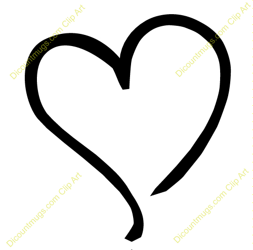 Free Heart Outline, Download Free Clip Art, Free Clip Art on.