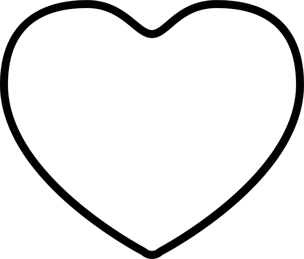 Heart Outline Svg Png Icon Free Download (#340251).