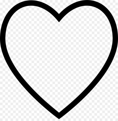 Heart outline png AbeonCliparts.