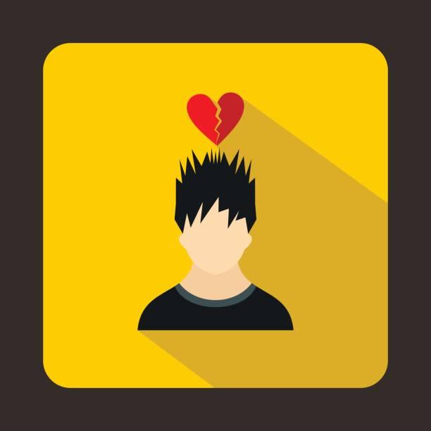 Broken Heart Clip Art, Vector Images & Illustrations.