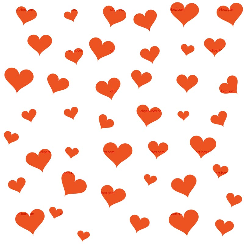 CLIPART HEART PATTERN.