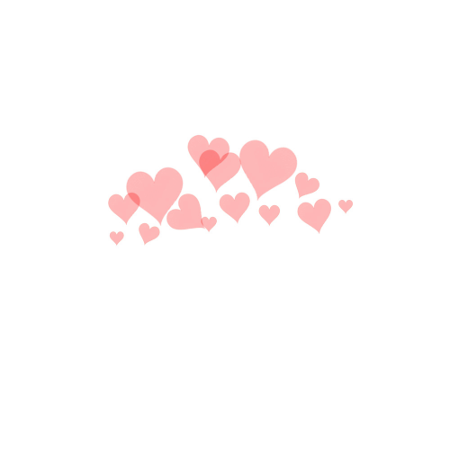 Photobooth Heart Png Vector, Clipart, PSD.