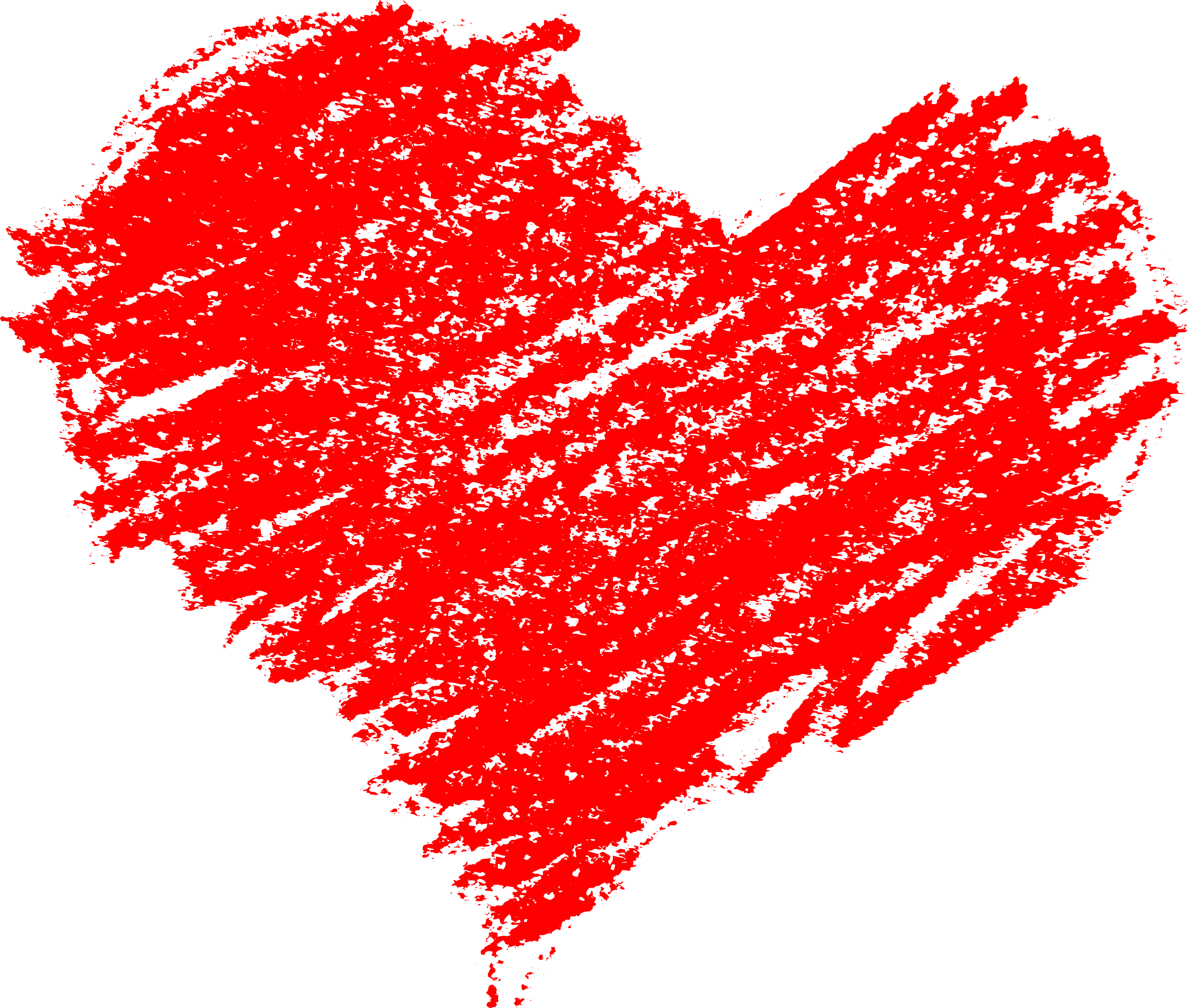 5 Scribble Heart (PNG Transparent).