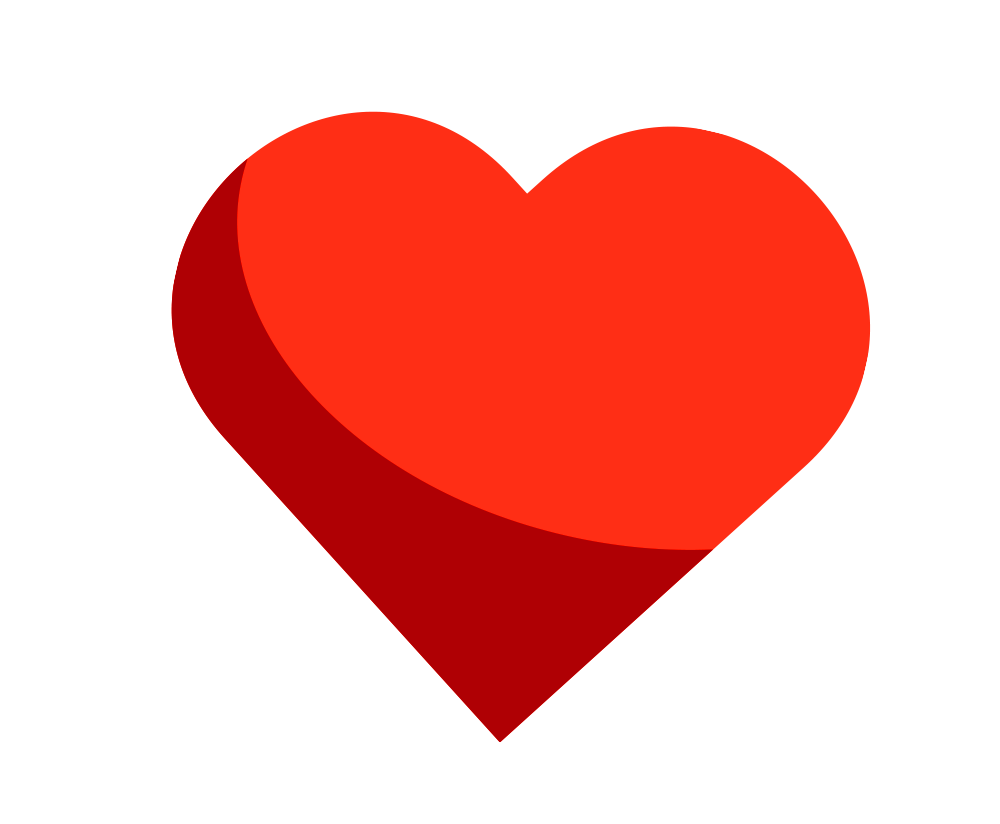 heart png hd transparent without background image.