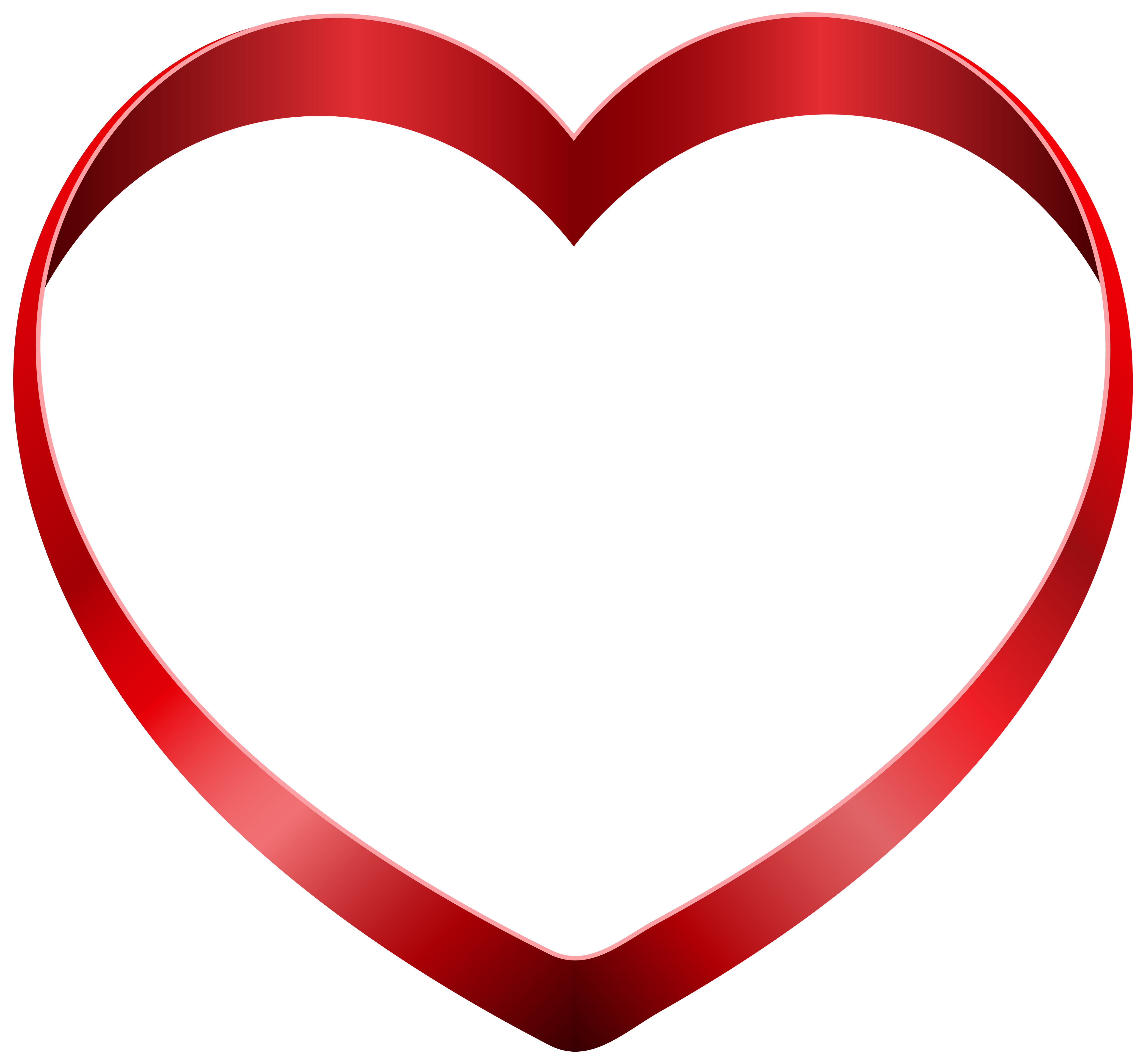 Transparent Heart PNG Clipart.