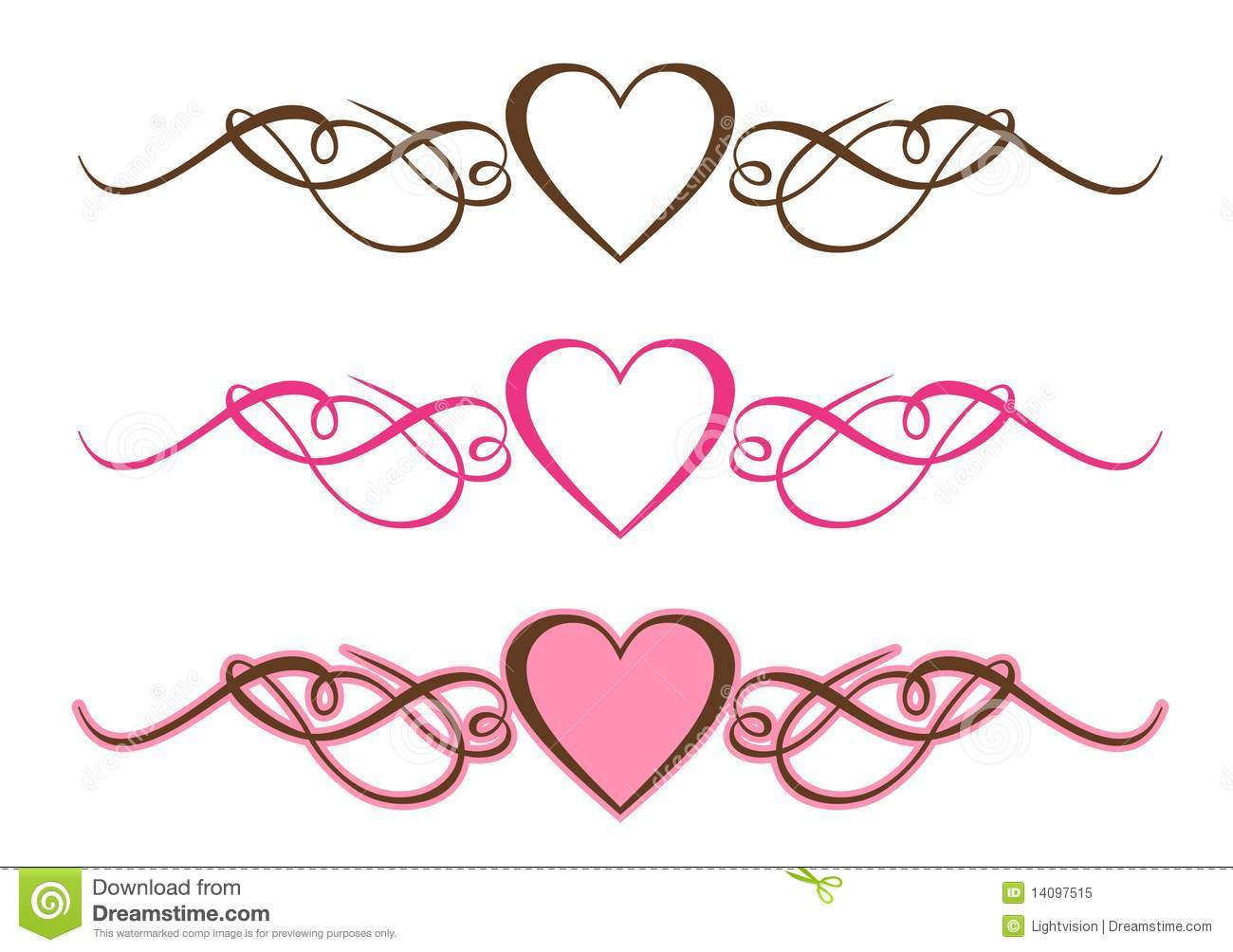 Free Scrollwork Heart Cliparts, Download Free Clip Art, Free Clip.
