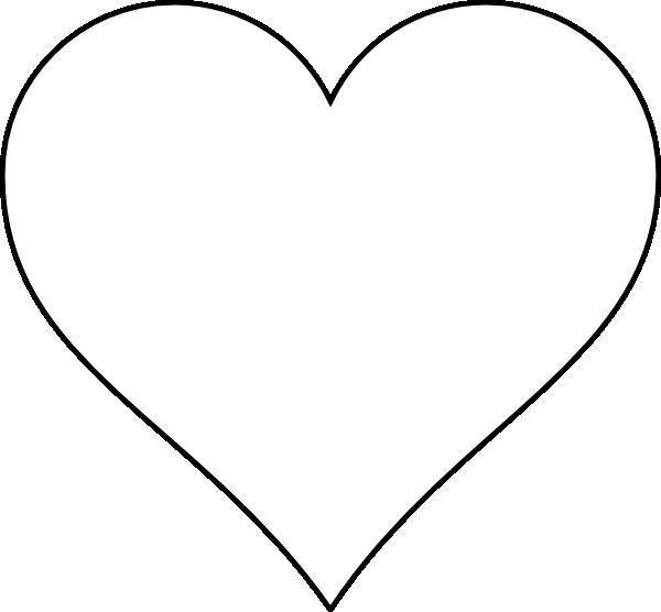 1500 Heart Shape free clipart.