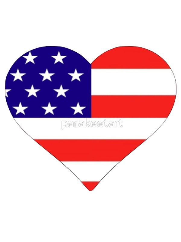 Image result for heart shaped american flag clipart transparent.