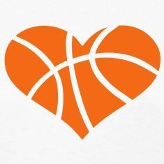 Heart shaped basketball clipart 4 » Clipart Station.