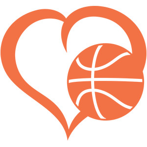 Heart shaped basketball clipart 7 » Clipart Station.