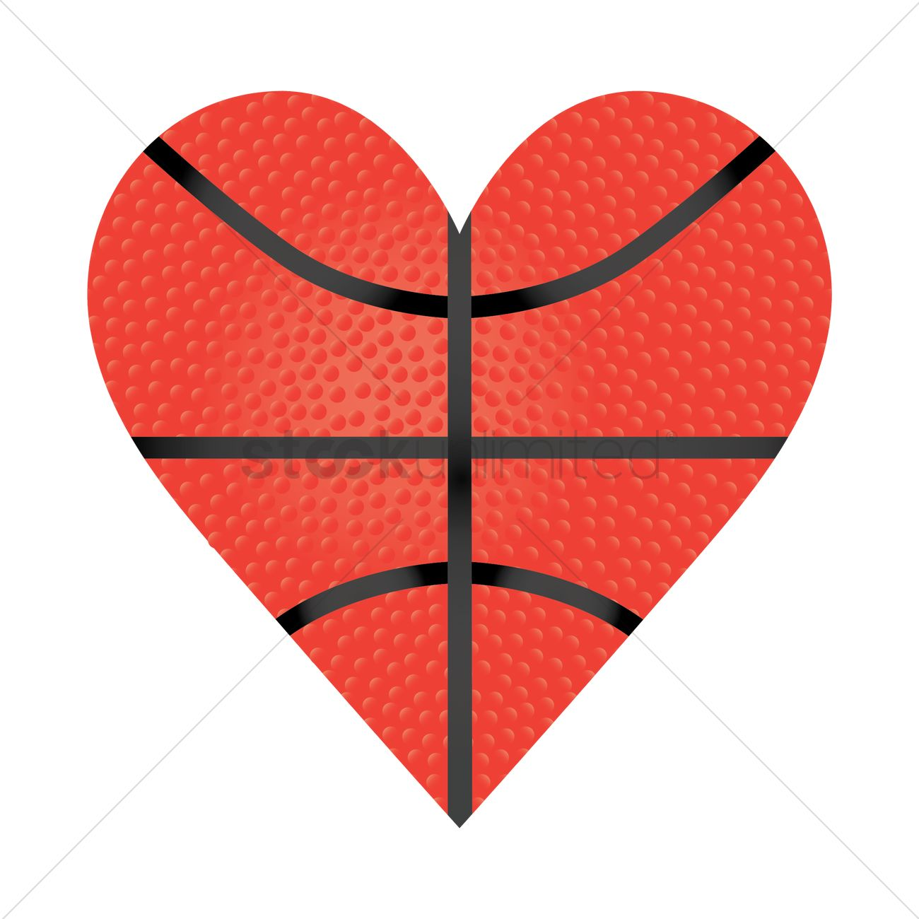 Heart shaped basketball clipart 2 » Clipart Station.