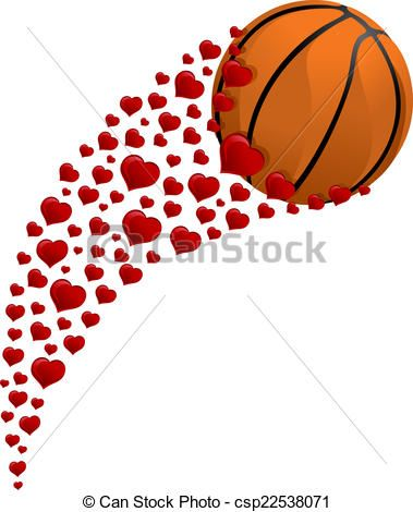 Heart Shaped Basketball Clipart : Basketball heart Stock Photos and.